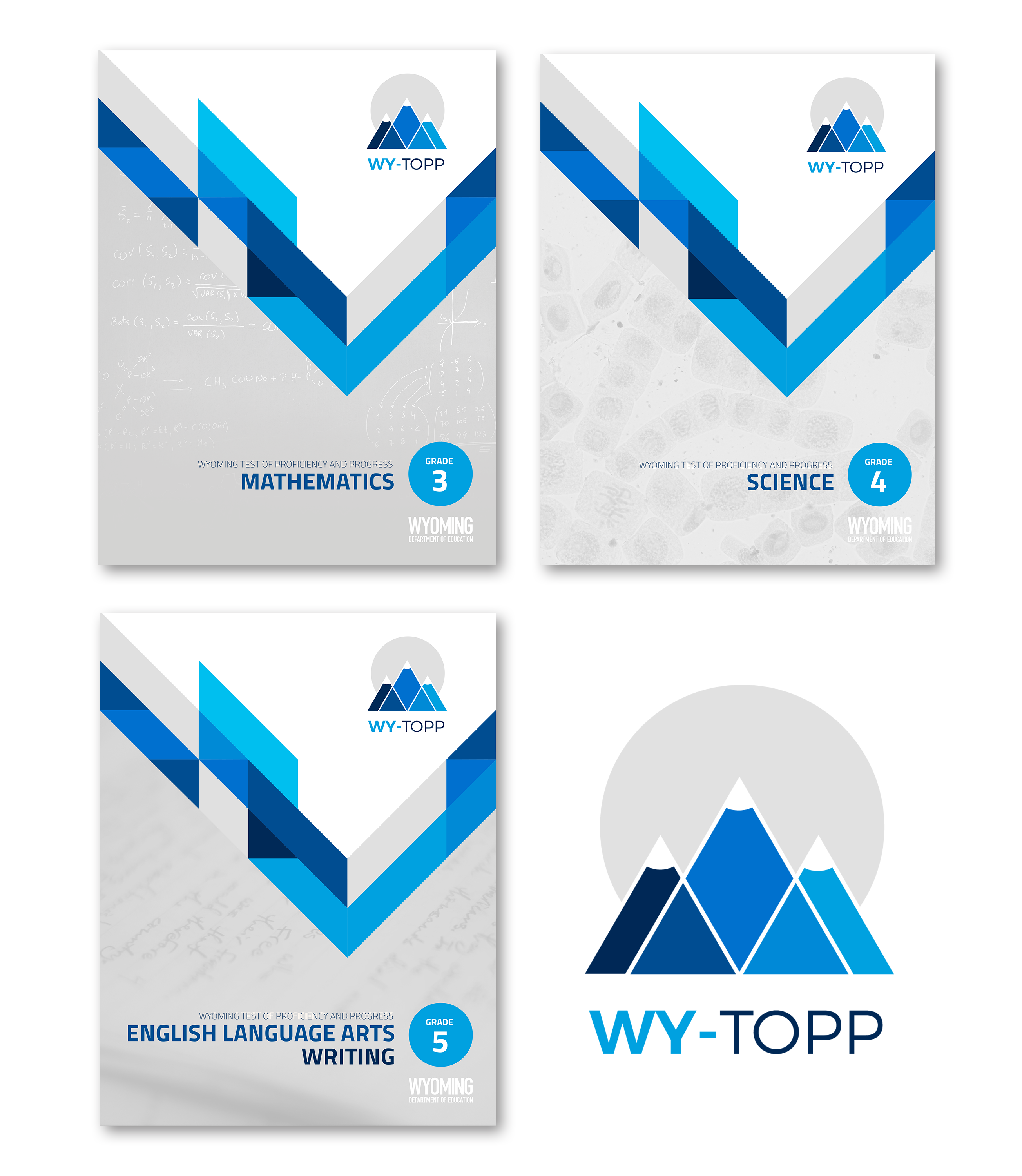 WY-TOPP Logo and Cover Designs